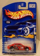 Hot Wheels 2001 Card #239 T-Bird Stocker Stock Car RED