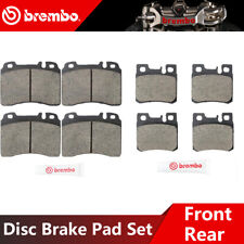 PCD986 REAR Premium Ceramic Brake Pads Fits 2007-2009 Mercedes-Benz S600