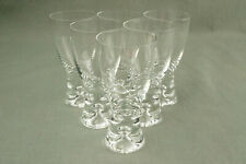 "4x Iittala Whisky Glas ""Aslak"" H 9 cm Wirkkala whiskey glass tumbler annees 70"