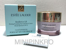 Estee Lauder Resilience Lift Face & Neck DAY Creme SPF 15 FULL SZ 1.0OZ 30ML NIB