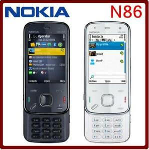 Original Nokia N86 8MP Unlocked Mobile Phone 3G HSDPA 900 / 2100 WIFI GPS