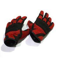 New Motocross Motorbike Riding Kids Child Summer Gloves Nylon Mesh Heavy Duty