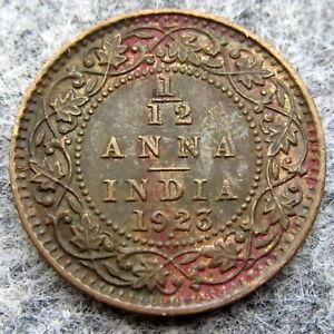 INDIA GEORGE V 1923 1/12 ANNA, BOMBAY MINT
