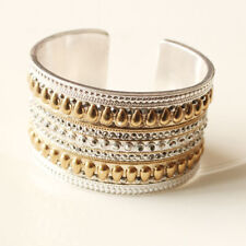 New Lucky Brand Open Wide Bangle Cuff Gift Vintage Women Party Holiday Jewelry