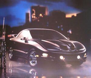 2001 Pontiac Firebird, Trans Am Prestige Brochure, Original GM 01