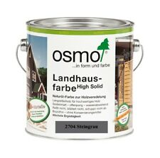 Osmo Landhausfarbe HS 2704 Steingrau 750 ml