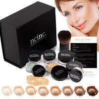 Luxury Mineral Makeup Boxed Starter Gift Set Kit : Bare Skin Minerals by NCinc.