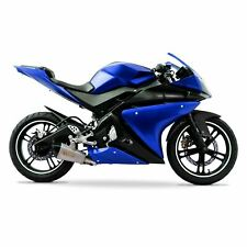 Yamaha YZF-R125 2014-2018 ABS Plastic Full Fairing Kit (21 panel) - Blue/Black