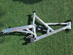MADE IN USA Cannondale GEMINI 1000 Full Suspension MTB Frame Large 1.5 Headset
