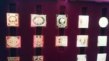 Coffret 73 timbres vermeil Collection  premiers timbres du monde mint franklin