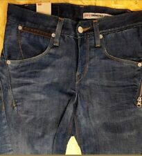 # LEVI'S ENGINEERED MENS JEANS BLUE W28 L36 ZIP WORK CASUAL     #E05