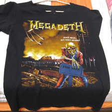 Vtg Megadeth Peace Sells But Who's Buying T-Shirt Men's All Size S-234XL BC11