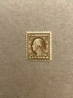 US Stamp Scott #465 4c Washington Mint Hinged SCV $45