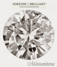 Loose Round 12mm Forever Brilliant Moissanite = 6 CT Diamond with Certificate