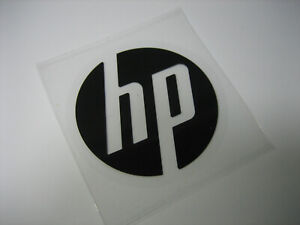 HP Sticker 48mm diameter Black Color - Genuine & New