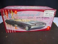 Vintage AMT 1962 Continental Customizing Kit Empty Box