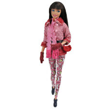 Doll Clothes Winter Coat Top Pants Clothing Outfit Accessory for Barbie Dolls S