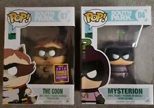 South Park Funko POP! - The Coon #07 and Mysterio #4 Vaulted rare!