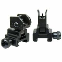 High Quality tactical Flip Up Front and Rear Iron Sight Combo Set