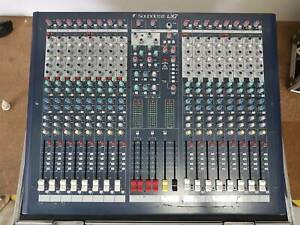 16 channel Soundcraft Mixing Desk and custom fit case