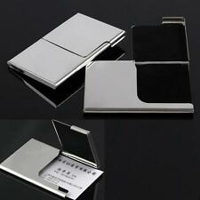 Credit card holder stainless steel business card case for man metal card holder