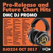 DMC DJ Only 224 Promo Chart Music Disc for DJ's Double CD Radio Edit & Remixes