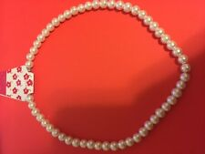 Imitation Pearl Necklace fashion necklace, 40cm long bead size 8-9mm free shippi