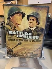 Battle of the Bulge Sealed DVD With Cut UPC Henry Fonda Robert Shaw Widescreen