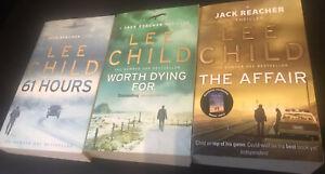 Lee Child,3 englischsprachige Taschenbücher