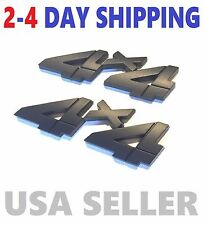 X2 Black 4 X 4 Smoked EMBLEM 4X4 car 3D truck ACURA & HONDA logo decal SUV SIGN