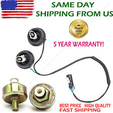 2 Knock Sensors with Harness Pair Kit for Chevy Silverado 1500 GMC Sierra Hummer