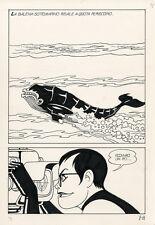 MAGNUS Necron #8 p11 ORIGINAL COMIC ART Italian