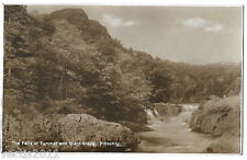 Pitlochry, Perthshire, Scotland vintage Real Photo Postcard - Falls of Tummel