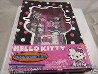 Hello Kitty boxed secrets set journal diary and mini stickers and gel pen