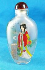 ANTIQUE CHINESE GLASS SNUFF BOTTLE R2340