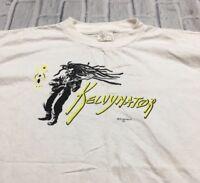 90s VTG KELVYNATOR FUNK REGGAE TOUR CONCERT T Shirt Hip Hop Rap Soul L R&B 80s