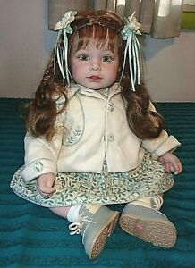 """ADORA 22"""" L.E. KLARA TODDLER DOLL, REDRESSED IN NEW ADORA OUTFIT"""