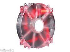 Cooler Master Megaflow 200mm Computer Fan with Red LEDs