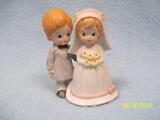 The Christopher Collection Lefton China Figurine 1982 ~ Bride & Groom Figurine >
