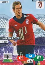LOSC-11 NOLAN ROUX # LILLE CARD ADRENALYN FOOT 2014 PANINI