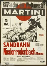 Martini Sand Rail Race down Roden Bach 1967 Poster