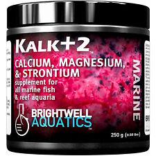 Brightwell Kalk+2 Kalkwasser Supplement 225 grams Calcium Magnesium Strontium