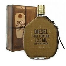 Diesel Fuel For Life Men 4.2 oz 125 ml *Eau De Toilette* Spray Nib Sealed