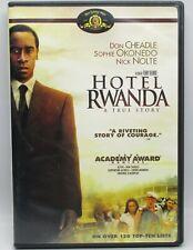 Hotel Rwanda Dvd 2006 Don Cheadle Sophie Okonedo