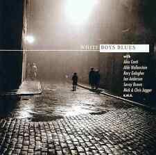 WHITE Boys Blues Alvin Lee, Jack Bruce, Savoy Brown, Snowy White... 2 CD NUOVO