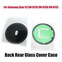 Classic Back Rear Glass Cover Case For Samsung Gear S2 SM-R720 SM-R730 SM-R732