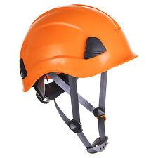 PORTWEST PS53, orange, Höhenarbeitshelm, Helm, Schutzhelm, Arbeitshelm, Bauhelm