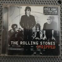 The Rolling Stones – Stripped [1995 Enhanced CD] CD includes bonus video