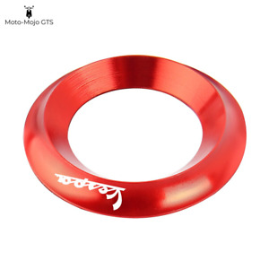 Vespa Ignition Ring Covers Red Vespa GTS GTV LX PX 125 200 250 300