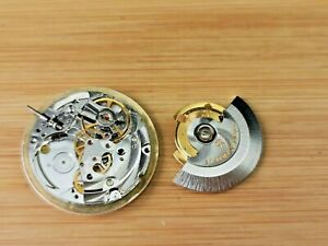 Partial Vintage Garrard MSR S76 Automatic 21 Jewel Watch Movement for Parts